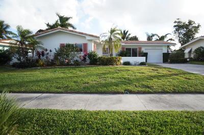 Boca Raton Single Family Home For Sale: 1044 SW 13th Street