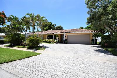 Boca Raton Single Family Home Contingent: 1334 SW 14th Street