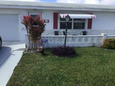 Boynton Beach Single Family Home For Sale: 2107 SW 23rd Court