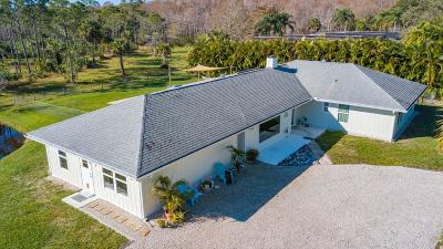 Hobe Sound Single Family Home For Sale: 8418 SE Sharon Street