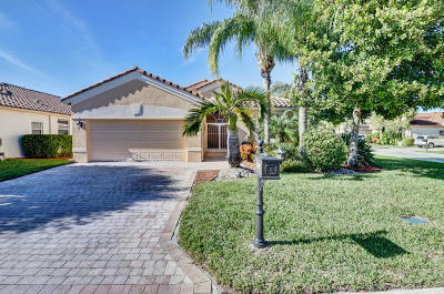 Lake Worth Single Family Home For Sale: 9357 Vercelli Street