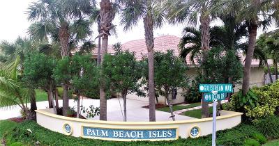 Riviera Beach Single Family Home For Sale: 1260 Gulfstream Way