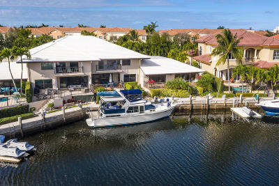 Boca Raton Single Family Home For Sale: 5330 Boca Marina Circle