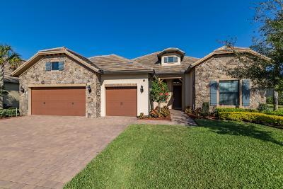 Wellington Single Family Home For Sale: 4722 Siena Circle