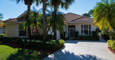 Palm Beach Gardens Single Family Home For Sale: 341 Kelsey Park Circle