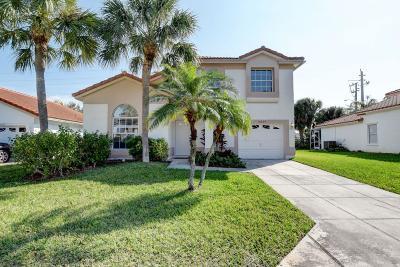 Boca Raton Single Family Home For Sale: 10659 Buttonwood Lake Drive