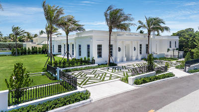 Palm Beach Single Family Home For Sale: 1632 S Ocean Boulevard
