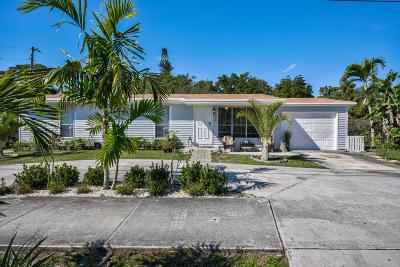 Jupiter Single Family Home For Sale: 308 Loxahatchee Drive