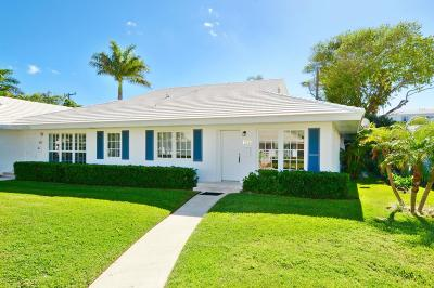 Delray Beach Single Family Home Contingent: 125 Venetian Drive #A