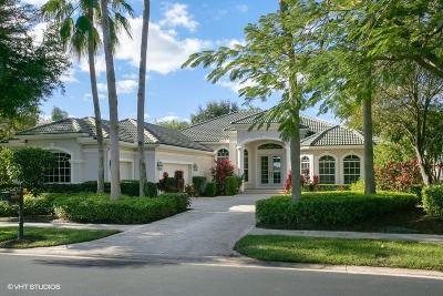 West Palm Beach Single Family Home For Sale: 8990 Lakes Boulevard