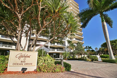 Juno Beach Condo For Sale: 800 Ocean Drive #Ph1