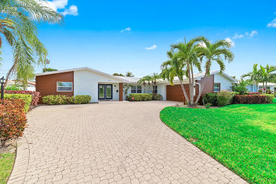 North Palm Beach Single Family Home For Sale: 118 Cruiser Road
