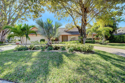 Boca West Single Family Home For Sale: 7340 Mahogany Bend Court