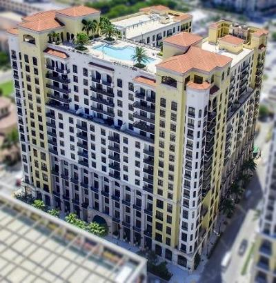 West Palm Beach Condo For Sale: 801 S Olive Avenue #706