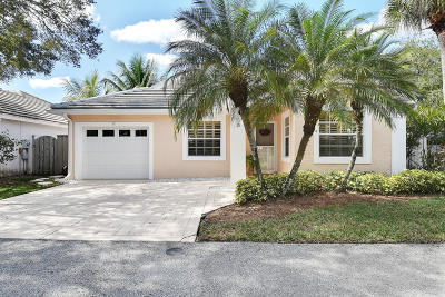 Palm Beach Gardens Single Family Home For Sale: 28 Governors Court