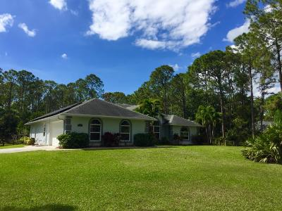 Jupiter Single Family Home For Sale: 15797 116 Terrace