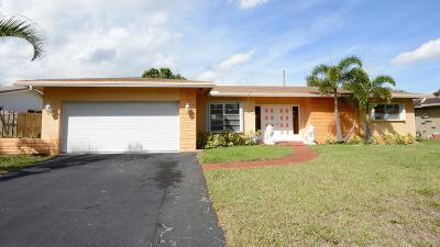 Plantation Single Family Home For Sale: 5261 SW 8th Street