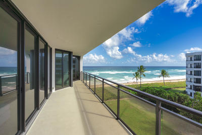 Palm Beach Condo For Sale: 3100 S Ocean Boulevard #505s