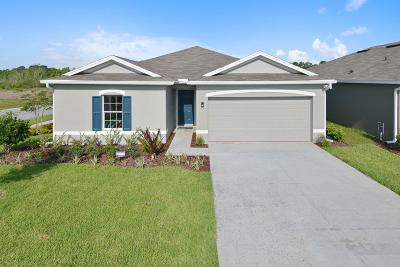 Fort Pierce Single Family Home For Sale: 5247 Oakland Lake Circle