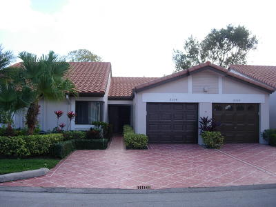Delray Beach Single Family Home For Sale: 6324 Kings Gate Circle