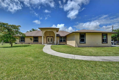 West Palm Beach Single Family Home For Sale: 13353 54th Street