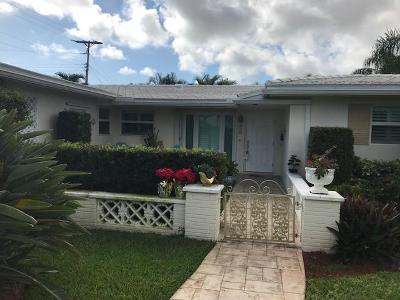 Boca Raton Single Family Home For Sale: 850 W Camino Real