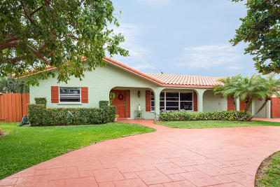 Boca Raton Single Family Home For Sale: 1952 Bonnie Street