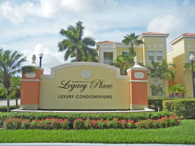 Palm Beach Gardens Condo For Sale: 11028 Legacy Drive #104