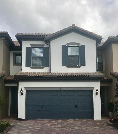 Lake Worth Townhouse For Sale: 4476 San Fratello Circle