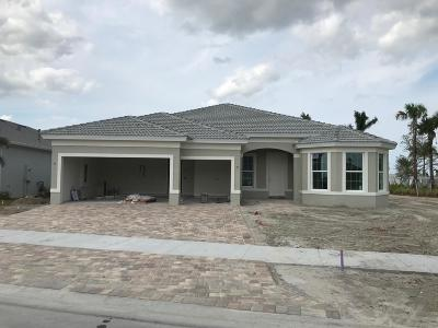 Port Saint Lucie Single Family Home For Sale: 12677 SW Gingerline Drive