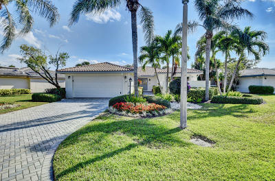 Boynton Beach Single Family Home For Sale: 35 Woods Lane