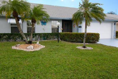 West Palm Beach Single Family Home For Sale: 5436 Crystal Anne Drive