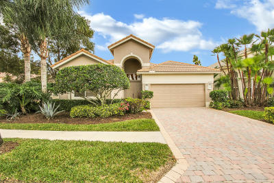 West Palm Beach Single Family Home For Sale: 10889 Grande Boulevard