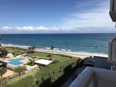 Palm Beach Condo For Sale: 3450 S Ocean Boulevard #702