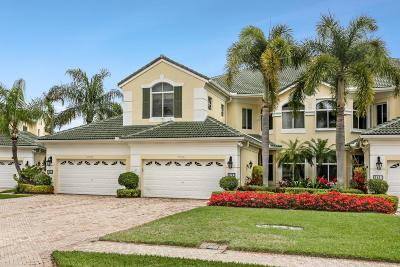 Palm Beach Gardens Condo For Sale: 117 Palm Point Circle #A