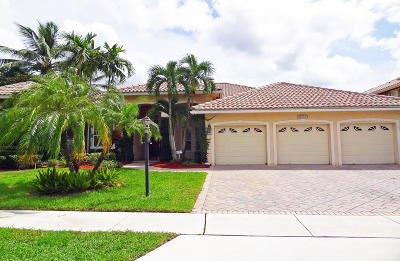 Boca Raton Single Family Home For Sale: 21722 Fall River Drive