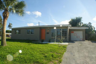 Palm Beach Gardens FL Single Family Home For Sale: $259,000