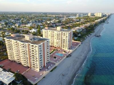 Highland Beach Condo For Sale: 4511 S Ocean Boulevard #804