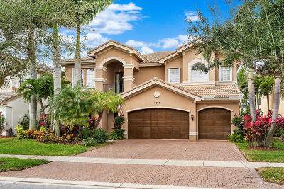 Boynton Beach Single Family Home For Sale: 11357 Misty Ridge Way