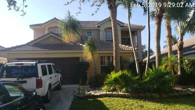 Delray Beach Single Family Home For Sale: 1020 Delray Lakes Drive