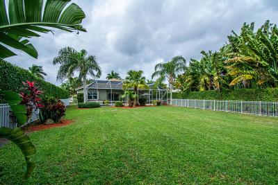 Boca Raton Single Family Home For Sale: 12848 Hyland Circle