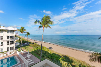 Delray Beach Condo For Sale: 3851 Ocean Boulevard #410