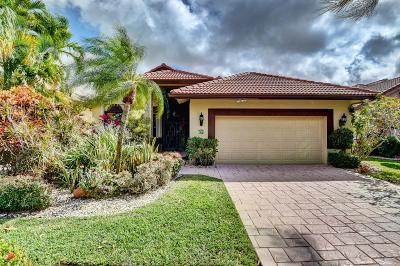 Boca Raton, Delray Beach, Boynton Beach Single Family Home For Sale: 6100 Terra Mere Circle