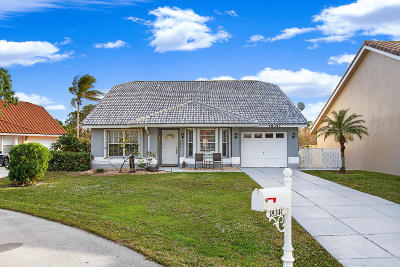 Boca Raton Single Family Home For Sale: 18341 Fresh Lake Way