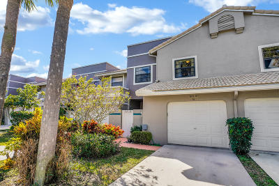 Delray Beach Townhouse For Sale: 5225 Monterey Circle #78