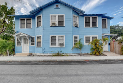 Lake Worth Multi Family Home For Sale: 602 K Street
