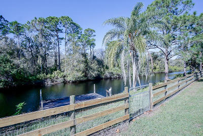 Palm City Single Family Home For Sale: 3252 SW Buena Vista Drive