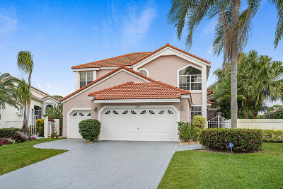 West Palm Beach Single Family Home For Sale: 12914 Touchstone Place