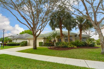 Jupiter Single Family Home For Sale: 511 Cocoplum Drive S