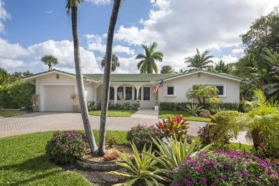 Ocean Ridge Single Family Home For Sale: 1 Midlane Road
